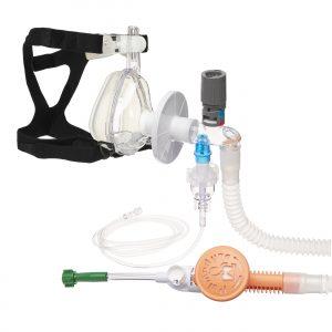 set circuit oxigen masca silicon